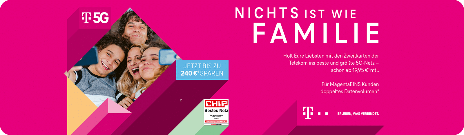 Telekom – Family Cashback Aktion